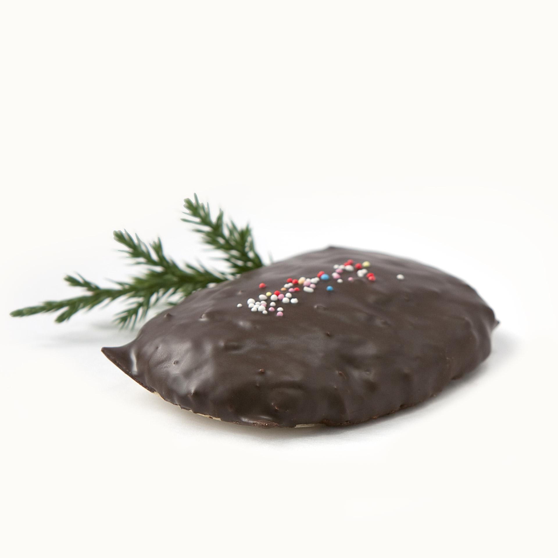 Lebkuchen Nürnberger Art mit Schokolade (5 Stk.)
